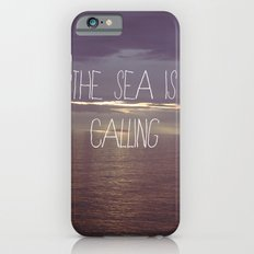 The Sea Is Calling Slim Case iPhone 6s