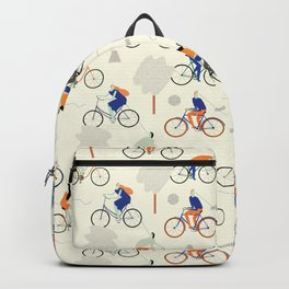 Watch out, cyclist! Backpack
