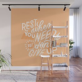 rest when you need to Wall Mural