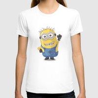 phil jones T-shirts featuring Minion - Phil by Konstantin Veter