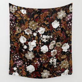 Christmas Garden Wall Tapestry