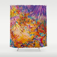 marc Shower Curtains featuring Marc by JR Schmidt