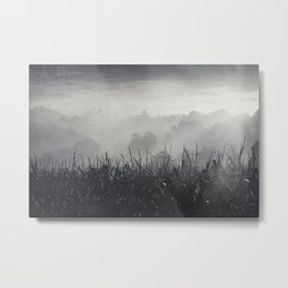 veiled land Metal Print