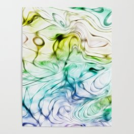 Loops and Lines Poster