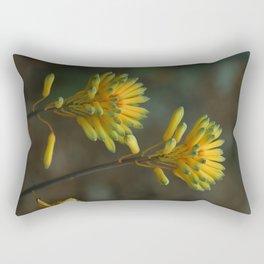 Yellow Blossoms Rectangular Pillow