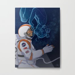 space queens Metal Print