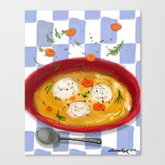Matzo Ball Soup Canvas Print
