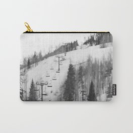 Chair Lifts at Vail Colorado Carry-All Pouch