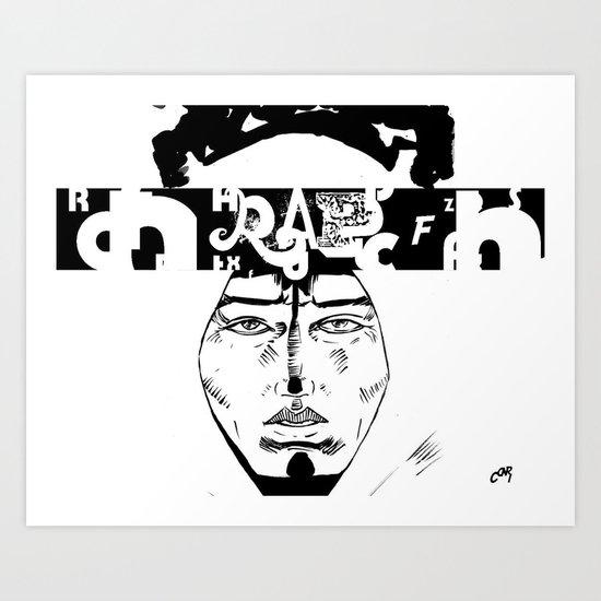 Don D. Rapper Art Print