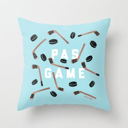 PAS GAME Throw Pillow