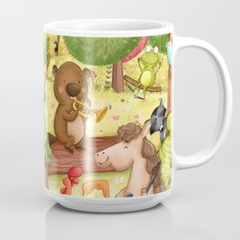 Animal Dance Party Coffee Mug