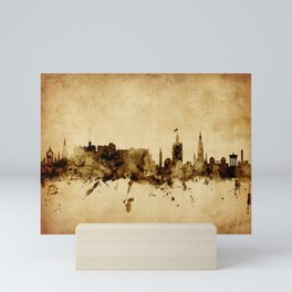 Edinburgh Scotland Skyline Mini Art Print