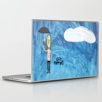 iggy Laptop & iPad Skins featuring Iggy Poppins by Levedad