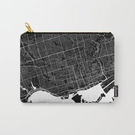 Toronto - Minimalist City Map Carry-All Pouch