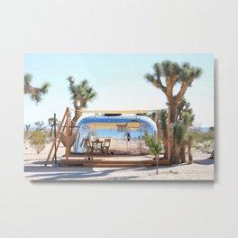 Airstream, Joshua Tree Acres 2 Metal Print
