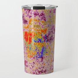 Astract Pink 04 Travel Mug