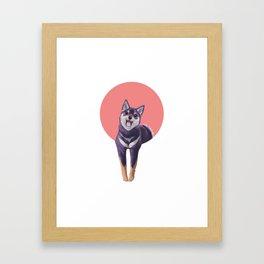 Natsu Framed Art Print