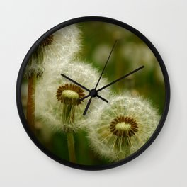 Just the Three of Us Wall Clock