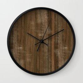 Australian Walnut Wood Wall Clock