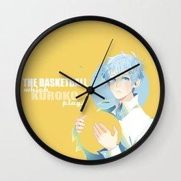 The Basketball Which Kuroko Plays Wall Clock