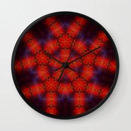 Roots Mandala Wall Clock