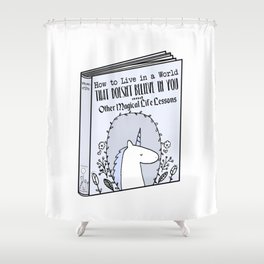 Magical Life Lessons Shower Curtain