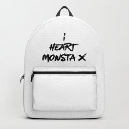 I Heart Monsta X - Monbebe Backpack