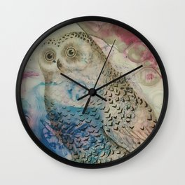 William the Wise Wall Clock