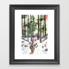Bagby Trail Framed Art Print