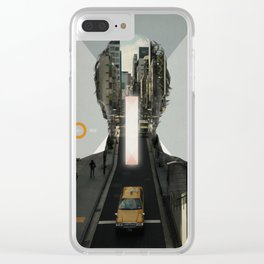 Vanishing Point Clear iPhone Case