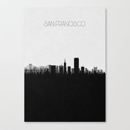 City Skylines: San Francisco Canvas Print