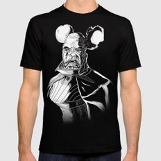 Vador Mouse Unmasked Mens Fitted Tee MEDIUM Black