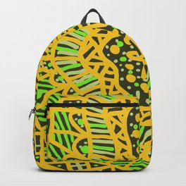Doodle 16 Yellow Backpack