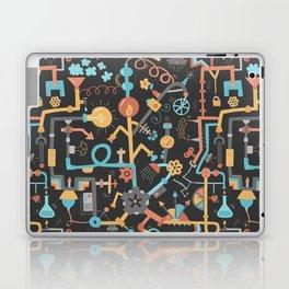 Pipe Dreams - Dark Orange Laptop & iPad Skin