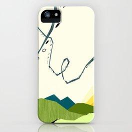 wind blown iPhone Case