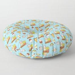 Happy Snacks Floor Pillow