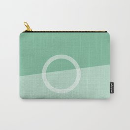 Teal Slice Carry-All Pouch