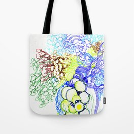 From Simplicity 2 Complexity series - Neural Network Tote Bag