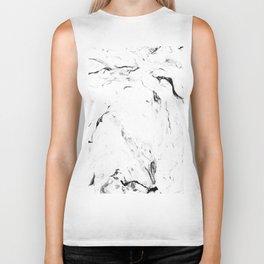 White Marble #society6 #decor #buyart Biker Tank