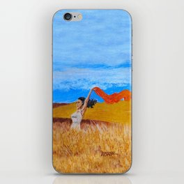 Field Frolic iPhone Skin