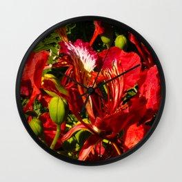 Flamboyan Wall Clock