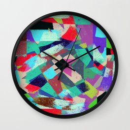 Exclusion - Graffiti Collection Wall Clock