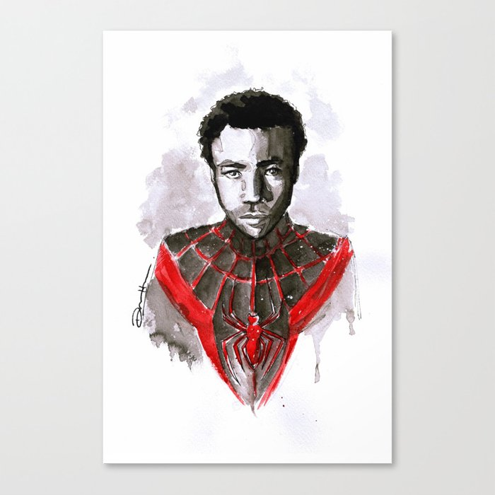 Donald for Spider-Man Canvas Print