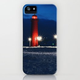 Grand Haven Light iPhone Case