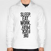 sleep Hoodies featuring Sleep by KubikMichal