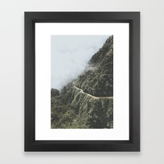 Death Road, Bolivia I Framed Art Print