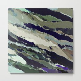 Surface Odyssey Again Metal Print