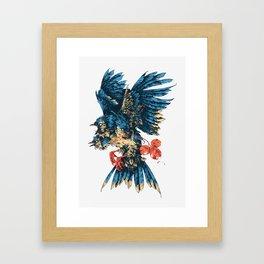3 of Clubs Framed Art Print