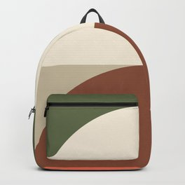 Abstract Geometric 01C Backpack