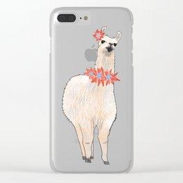 I'm a Llama & I'm Pretty Clear iPhone Case